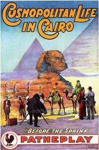 Cosmopolitan Life in Cairo - 43 x 62 Movie Poster - Bus Shelter Style A