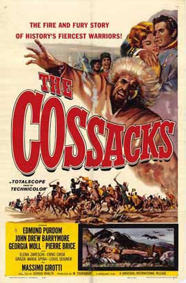 Cossacks - 11 x 17 Movie Poster - Style A