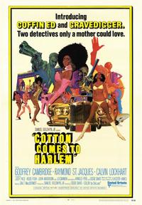 Cotton Comes to Harlem - 43 x 62 Movie Poster - Bus Shelter Style A