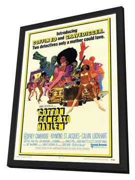 Cotton Comes to Harlem - 27 x 40 Movie Poster - Style A - in Deluxe Wood Frame