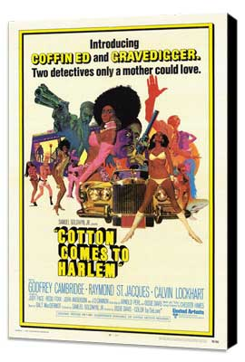 Cotton Comes to Harlem - 27 x 40 Movie Poster - Style A - Museum Wrapped Canvas