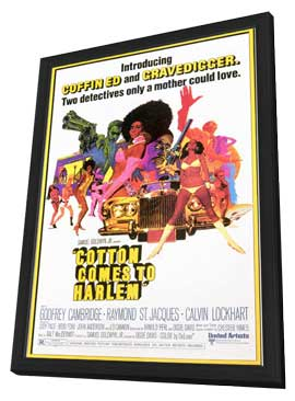 Cotton Comes to Harlem - 11 x 17 Movie Poster - Style A - in Deluxe Wood Frame