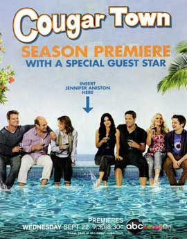 Cougar Town (TV) - 11 x 17 TV Poster - Style B
