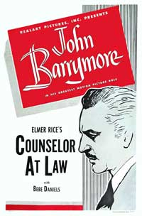 Counsellor at Law - 11 x 17 Movie Poster - Style A