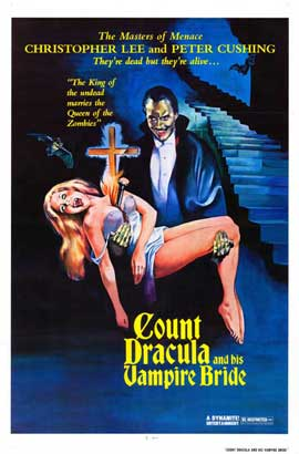 Count Dracula and His Vampire Bride - 27 x 40 Movie Poster - Style A