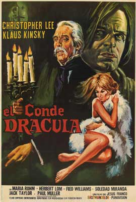 Count Dracula - 27 x 40 Movie Poster - Spanish Style A