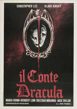 Count Dracula - 27 x 40 Movie Poster - Italian Style A