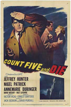 Count Five and Die - 11 x 17 Movie Poster - Style A