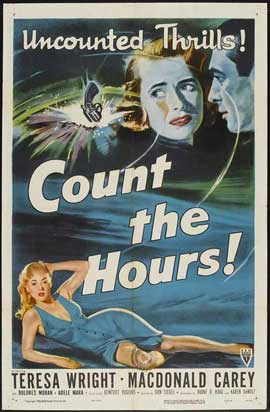 Count the Hours - 27 x 40 Movie Poster - Style A