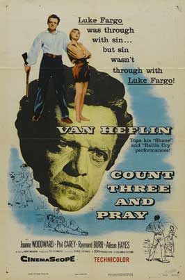 Count Three and Pray - 11 x 17 Movie Poster - Style A
