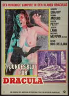 Count Yorga, Vampire - 27 x 40 Movie Poster - German Style A