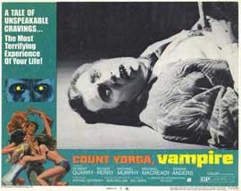 Count Yorga, Vampire - 11 x 14 Movie Poster - Style E