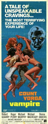 Count Yorga, Vampire - 14 x 36 Movie Poster - Insert Style A