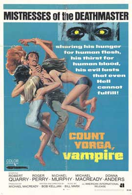 Count Yorga, Vampire - 27 x 40 Movie Poster - Style A