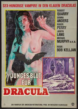 Count Yorga, Vampire - 11 x 17 Movie Poster - German Style A