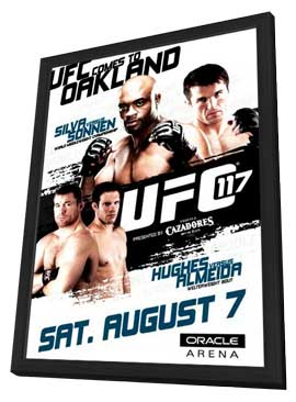 Countdown to UFC 117 (TV) - 11 x 17 TV Poster - Style A - in Deluxe Wood Frame