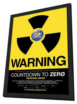 Countdown to Zero - 11 x 17 Movie Poster - Canadian Style A - in Deluxe Wood Frame