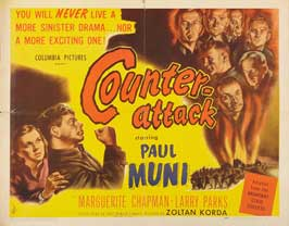 Counter-Attack - 22 x 28 Movie Poster - Half Sheet Style A