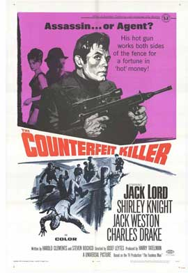 Counterfeit Killer - 11 x 17 Movie Poster - Style A