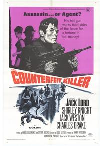 Counterfeit Killer - 27 x 40 Movie Poster - Style A