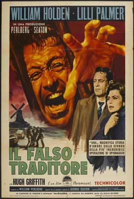 The Counterfeit Traitor - 27 x 40 Movie Poster - Italian Style A