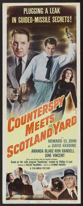 Counterspy Meets Scotland Yard - 14 x 36 Movie Poster - Insert Style A