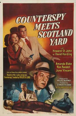 Counterspy Meets Scotland Yard - 27 x 40 Movie Poster - Style A