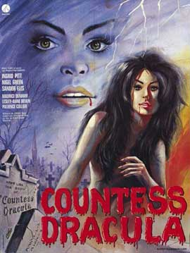 Countess Dracula - 11 x 17 Movie Poster - French Style A