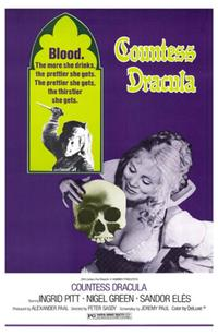 Countess Dracula - 27 x 40 Movie Poster - Style A