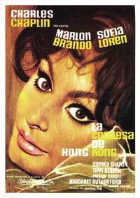 A Countess from Hong Kong - 43 x 62 Movie Poster - Spanish Style A