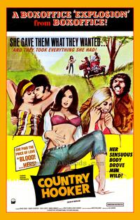 Country Hooker - 43 x 62 Movie Poster - Bus Shelter Style A