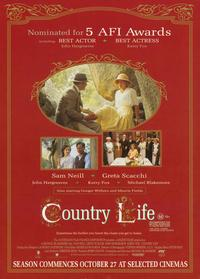 Country Life - 11 x 17 Movie Poster - Style C