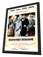 Country Strong - 27 x 40 Movie Poster - Style A - in Deluxe Wood Frame