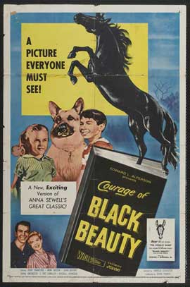 Courage of Black Beauty - 11 x 17 Movie Poster - Style A