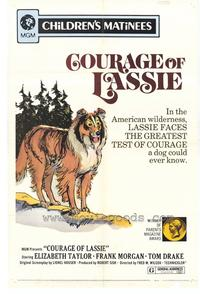 Courage of Lassie (r72) - 27 x 40 Movie Poster - Style A