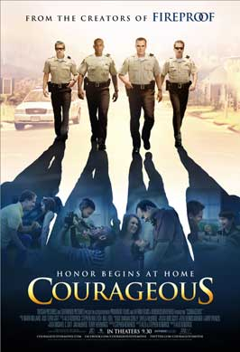 Courageous - 43 x 62 Movie Poster - Bus Shelter Style A
