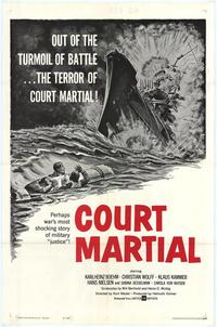 Court Martial - 11 x 17 Movie Poster - Style A