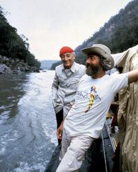 Jacques Cousteau - 8 x 10 Color Photo #1