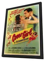 Cover Girl - 11 x 17 Movie Poster - Style A - in Deluxe Wood Frame