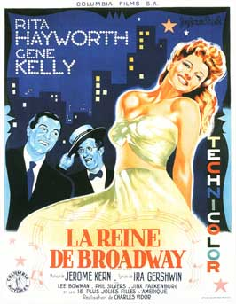 Cover Girl - 11 x 17 Movie Poster - French Style C