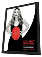 Covert Affairs (TV) - 11 x 17 TV Poster - Style B - in Deluxe Wood Frame