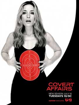 Covert Affairs (TV) - 11 x 17 TV Poster - Style B