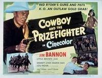Cowboy and the Prizefighter - 11 x 14 Movie Poster - Style A
