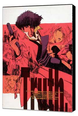 Cowboy Bebop - 27 x 40 Movie Poster - Style B - Museum Wrapped Canvas
