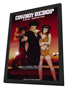Cowboy Bebop - 11 x 17 Movie Poster - Style A - in Deluxe Wood Frame