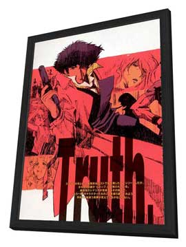Cowboy Bebop - 27 x 40 Movie Poster - Style B - in Deluxe Wood Frame