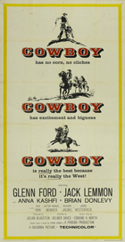 Cowboy - 20 x 40 Movie Poster - Style A