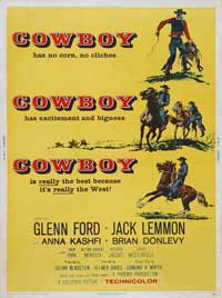 Cowboy - 43 x 62 Movie Poster - Bus Shelter Style A