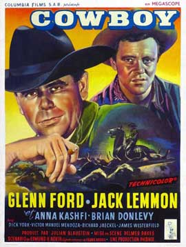 Cowboy - 27 x 40 Movie Poster - Belgian Style A