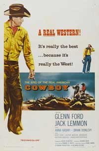 Cowboy - 11 x 17 Movie Poster - Style B